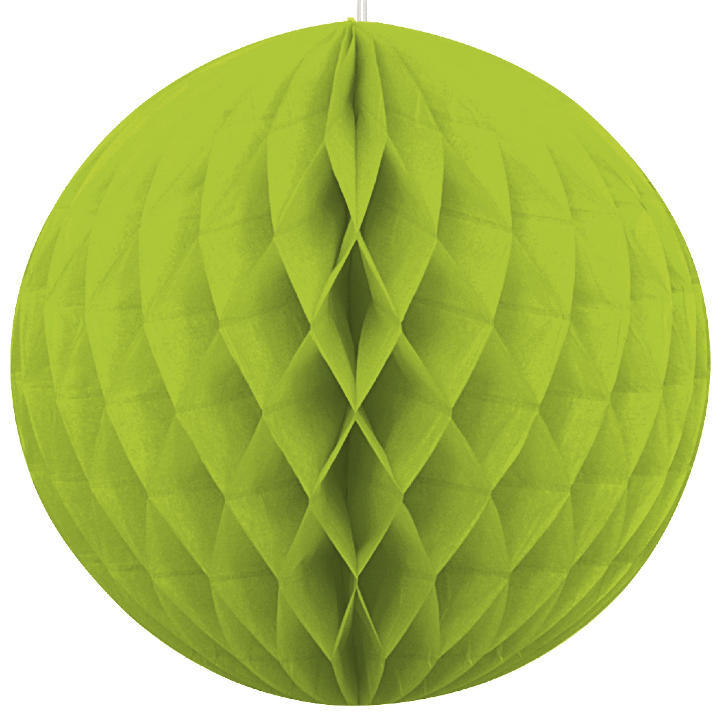 8 inch honeycomb ball LIME