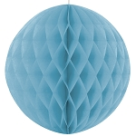 8 inch honeycomb ball LIGHT BLUE