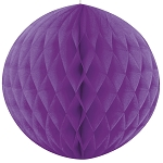 8 inch honeycomb ball PURPLE