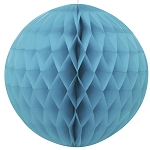 8 inch honeycomb ball TEAL