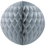 8 inch honeycomb ball SILVER UI63224