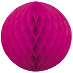 8 inch honeycomb ball FUCHSIA