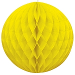 8 inch honeycomb ball YELLOW