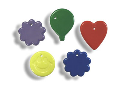 Plastic balloon weight 15 gram PRIMARY ASST  (50 pcs)