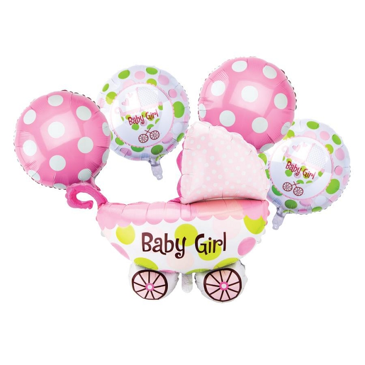Baby Girl Balloon Bouquet PINK