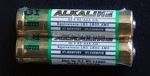 AAA alkaline batteries set of 2
