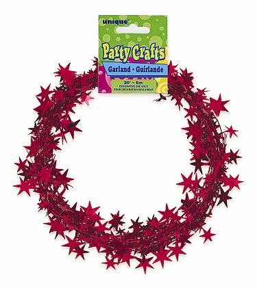 RED Star Garland