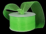 Monofilament organza ribbon APPLE