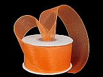 Monofilament organza ribbon ORANGE
