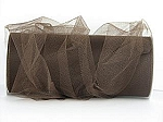 Nylon tulle BROWN