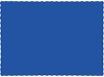 Paper place mat COBALT (ROYAL) BLUE 863147B