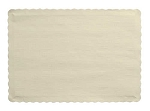 Paper place mat IVORY EGGSHELL 863264B