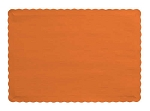 ORANGE Paper place mat