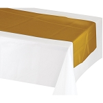 Table runner METALLIC GOLD