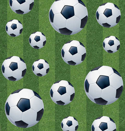 Rectangular Soccer 54 Quot X 108 Quot Plastic Tablecover And