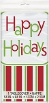 Happy holidays table cloth 54