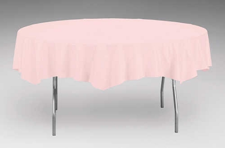 Pink Plastic Backed Paper Lined Tablecloths 54 Quot X 108 Quot Black