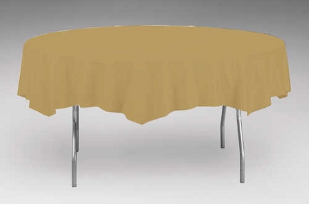 Gold Plastic Backed Paper Lined Tablecloths 54 Quot X 108 Quot Black