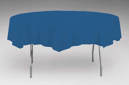 Navy Blue Plastic Backed Paper Lined Tablecloths 54 Quot X 108