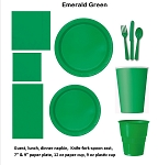 EMERALD GREEN tableware