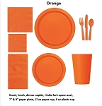 PUMPKIN ORANGE tableware