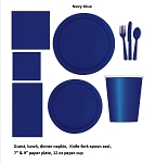 NAVY BLUE tableware