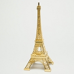 Metallic Gold Metal Eiffel Towers