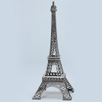 SILVER Metal Eiffel Towers