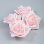 Pink Foam roses (12 count)