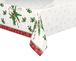Candy cane table cloth 54