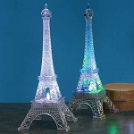 Large Acrylic Eiffel Tower w/LED Light