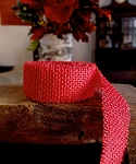 Red Jute ribbon
