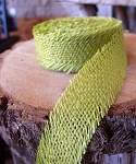 Lime Jute ribbon
