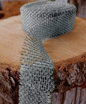 Gray Jute ribbon