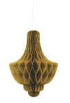 GOLD Tissue chandelier