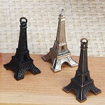 2 inch Eiffel tower Key chain charms