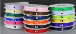 Satin edge organza CLOSEOUT