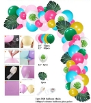 Hawaiian Luau balloon garland