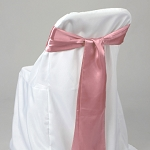 BLUSH satin chair bows (6pcs/bag)