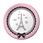 Party in Paris Dessert Plates