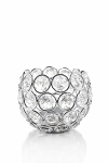 Crystal Ball Votive Candle Holder 3.5inch SILVER 740007SV