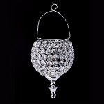 Hanging Crystal Candle Holder 7.5inch