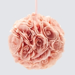 BLUSH Silk pomander flower ball