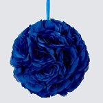 ROYAL Silk pomander flower ball