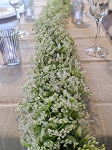 62inch Artificial jasmine garland
