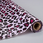 Leopard pink plastic 50% OFF