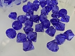 Purple acrylic diamonds