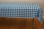 Blue Rectangle Plaid Tablecloths