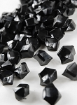 Acrylic rocks/stones BLACK