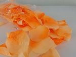 Rose Petals ORANGE 400 pieces